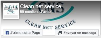 Page Facebook Clean Net Service Quimper